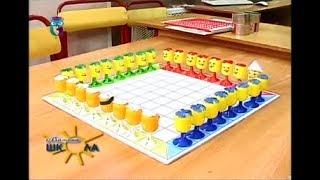 """Настольная игра """"Hoppers"""" из яиц от киндер-сюрприза. Мастер класс для детей и родителей"""