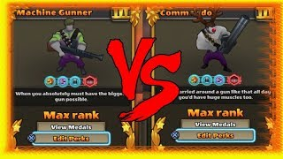 Machine Gunner Vs Commando Review | Test | GUNS UP! PS4
