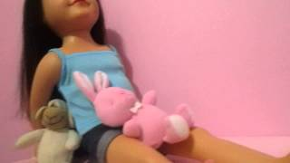 My Journey Girl Doll Dana's Bedroom Tour