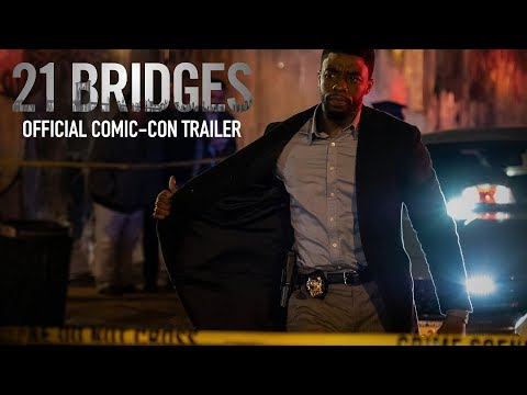 Play 21 Bridges | Comic-Con Trailer | In Theaters September