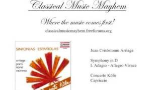 Arriaga - Symphony in D: I. Adagio - Allegro Vivace