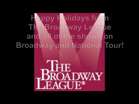 Happy Holidays from The Broadway League