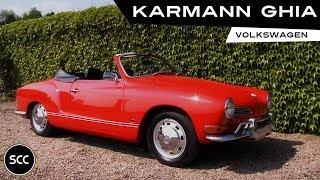 Volkswagen Karmann GHIA 1600 Cabriolet 1971 - Modest test drive - Engine sound   SCC TV