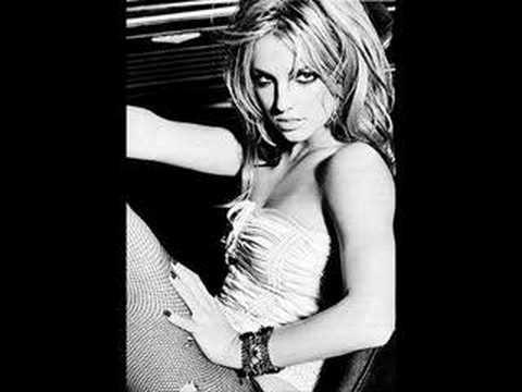 Britney Spears behind ...
