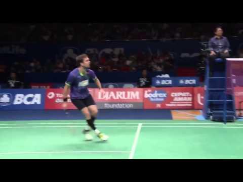 Kento Momota vs Jan O Jorgensen   Badminton Open 2015 New