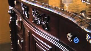 Bathroom Vanity In Antique Style Fresca Fvn6351 Bathroom Cabinet