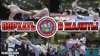 Тхэквондо ГТФ  Taekwondo GTF Порхать и жалить