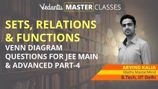 Class 11 Maths: Sets, Relations & Functions Part-04 | Venn Diagram Questions for JEE Main & Advanced thumbnail