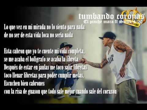 Tumbando Coronas (Letra) - El pinche mara ft Sonik 4 20