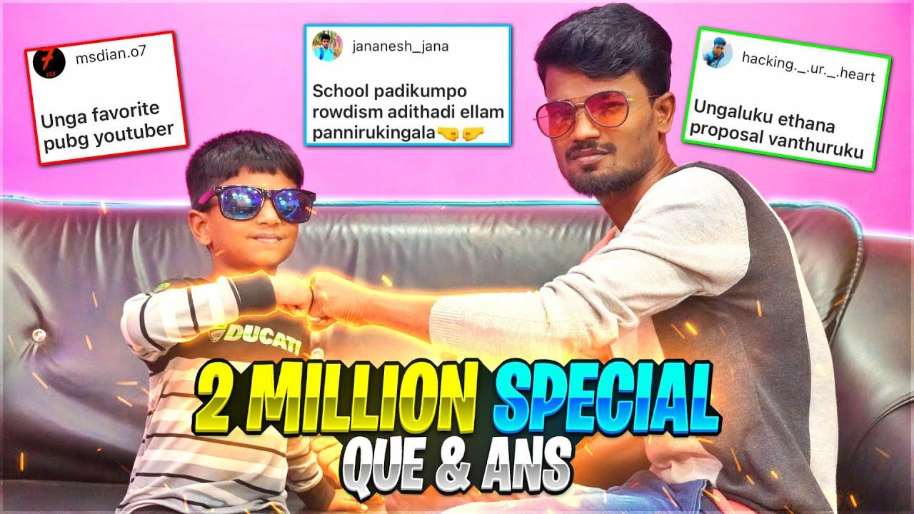😭வேற வழி தெரியல ஆதா!🤒| 2 Million Family Special Video | Instragam Q& A Funny Video | Gaming Tamizhan