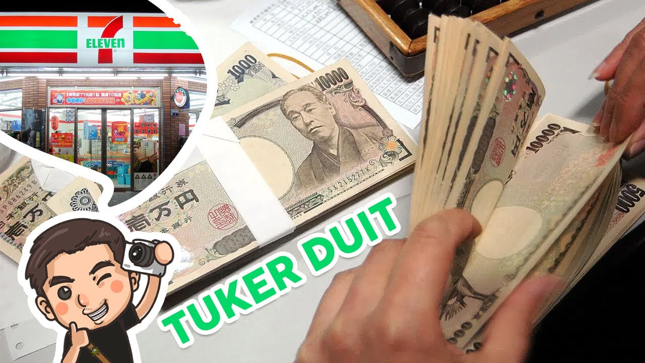 Cara Menukar Uang Rupiah ke Yen di jepang ( Seven Eleven ) / Awi Willyanto