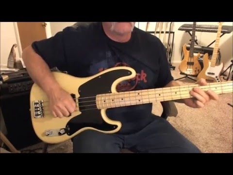 Eddie and the Cruisers - Tender Years - Bass Cover