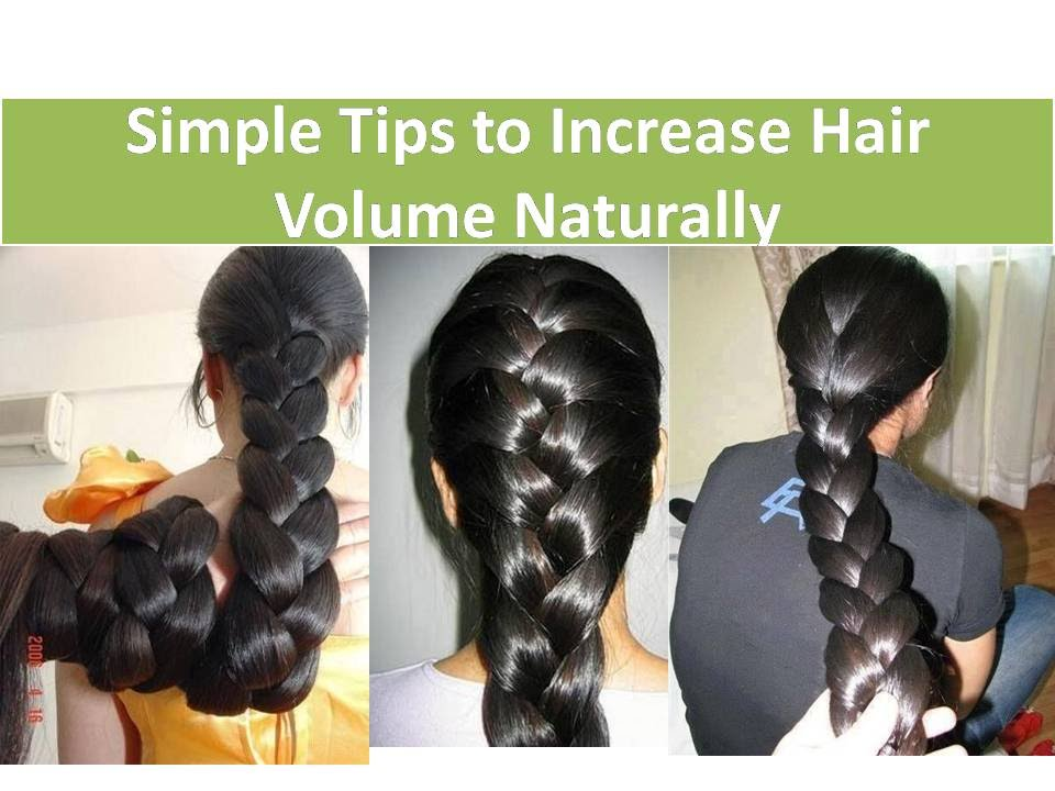 How To Grow Hair Faster Thicker Simple Tips To Increase Hair