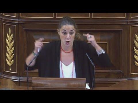 NOELIA VERA (PODEMOS) destroza a MONTORO por TVE (13/09/2017)