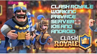 Clash Royale Private Server For IOS!!! Working- DNS