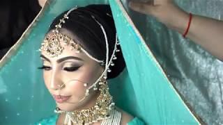 Hijabi Bridal Look - MUA Saira Iqbal