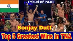 Sonjay Dutt Top 5 Greatest Wins In TNA (impact wrestling)! Sonjay Dutt Savage Moments.
