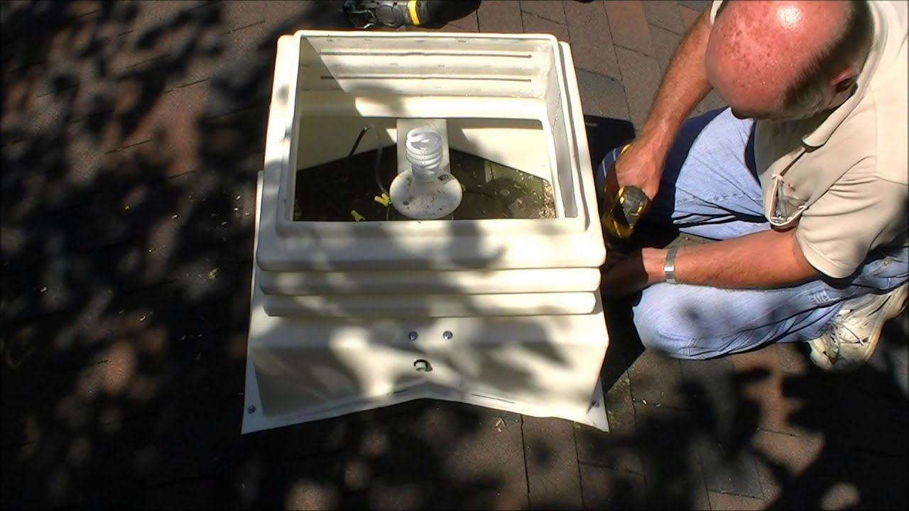 Easy installation of ag co cupola youtube for How to build cupola