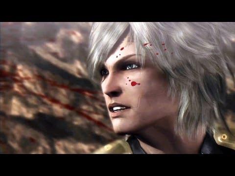 Metal Gear Rising Boss Fight : Raiden VS Metal Gear Ray (Walkthrough Video)