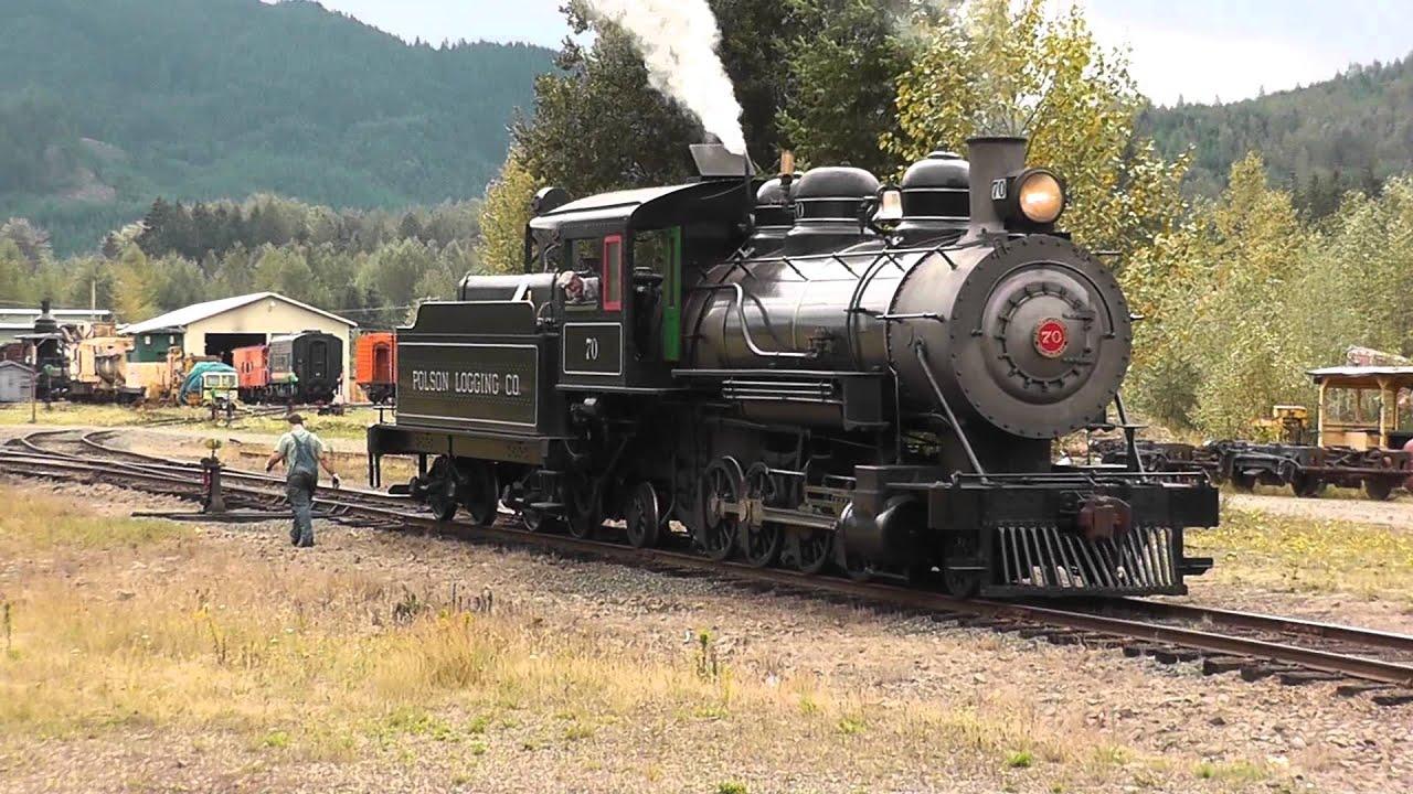 Mt Rainier Scenic Railroad 2 8 2 70 Steam Locomotive
