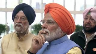 PM Modi opens Kartarpur Corridor integrated terminal in Punjab, India
