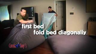 Corda-Roy_s Double King Sofa Bean Bag Bed Video