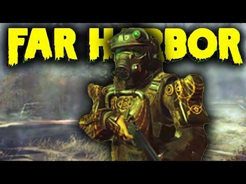 Fallout 4 DLC Far Harbor DLC Gameplay - Finding Rare Weapons, Secrets & More (Far Harbor DLC)