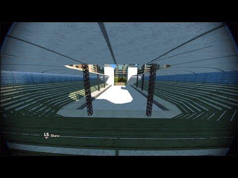 Skate 3 Free Park Template - Stadium w/Download