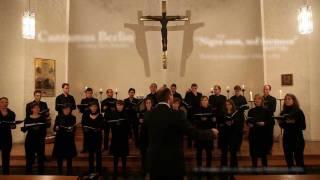 Giovanni Pierluigi da Palestrina: Nigra sum (SAATB, HD)