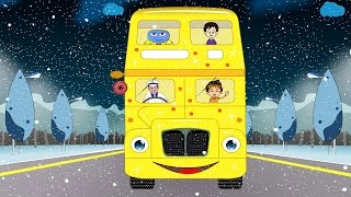 the wheels on the bus children nursery rhymes i baby kid songs i kindergarten kids baby rhyme song