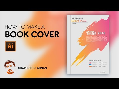 How to Make a Book Cover - Illustrator Tutorial thumbnail