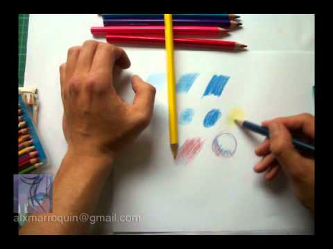 Lápices de color - tutorial - YouTube