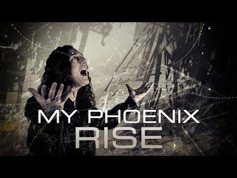 Turilli / Lione RHAPSODY - Phoenix Rising (OFFICIAL LYRIC VIDEO)