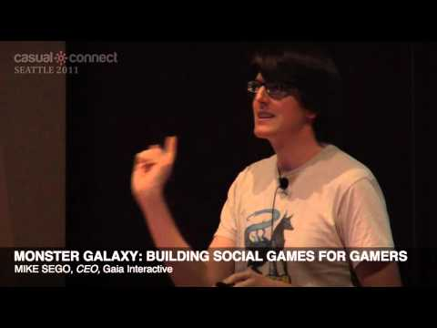 Monster Galaxy: Building Social Games for Gamers | Mike SEGO