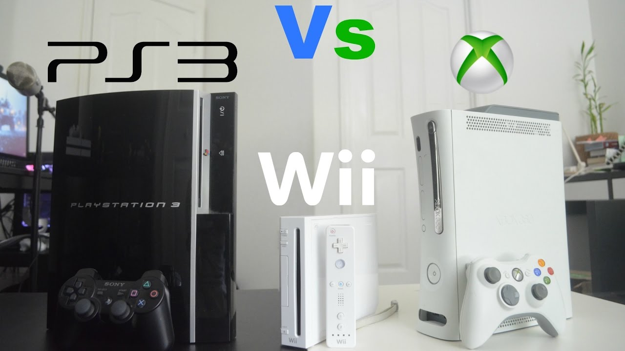 PlayStation 3 Vs Xbox 360 Vs Wii - Review - YouTube Xbox 360 Vs Ps3 Vs Wii