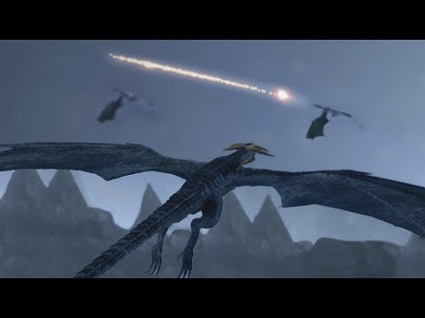 BECOME THE DRAGON! - SkyFear WYVERN DRAGON BATTLE GAME ( Demo )