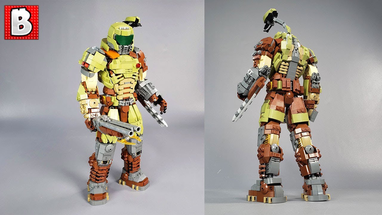 The Doom Slayer! LEGO Custom Build