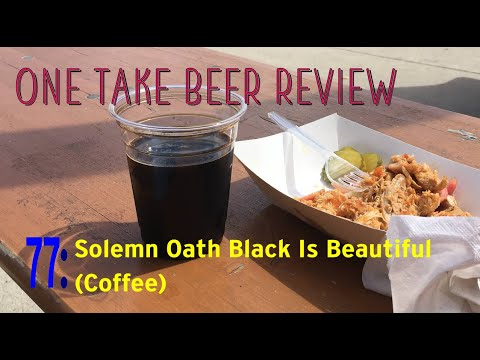 "Thumbnail image for '""Black Is Beautiful"" Beer Review: Solemn Oath with Coffee'"