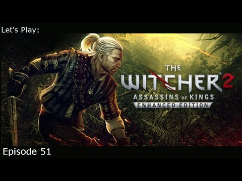 Reunion With Cynthia -Ep 51 Let's Play: The Witcher 2 (Blind)