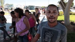 Protesto de Moradores do Novo Marcos contra Cesta Básica da Prefeitura de Remanso