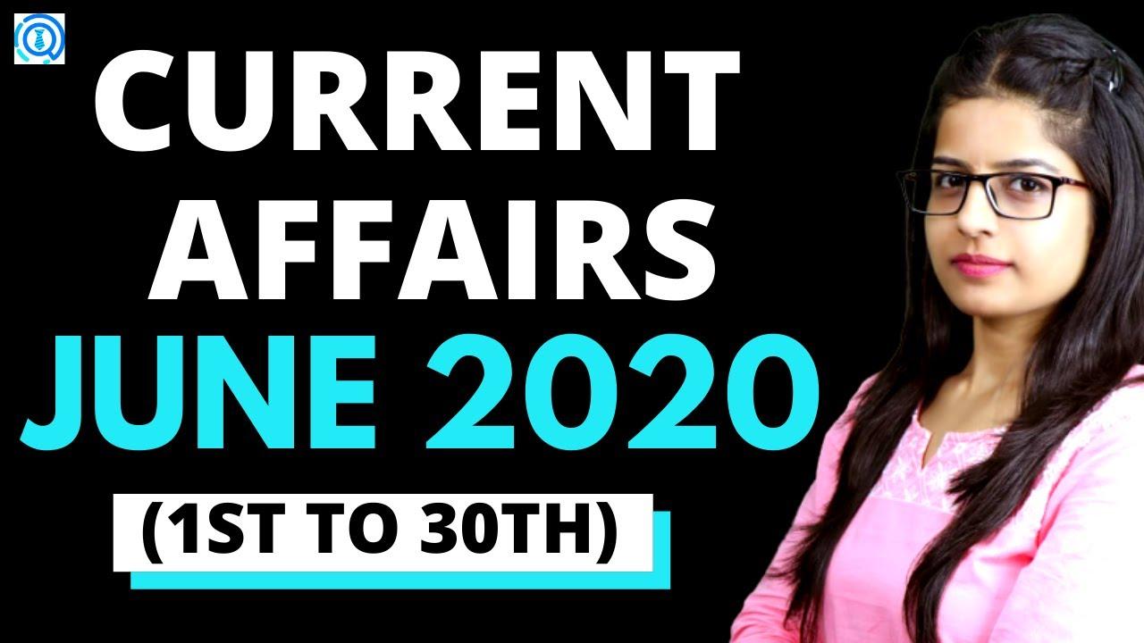 CURRENT AFFAIRS JUNE 2020 | BANKING BASTA 2.0