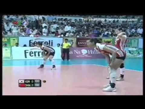 VTV  Volleyball Cup 2011[Pool B]:IBK Bank Korea vs Beijing