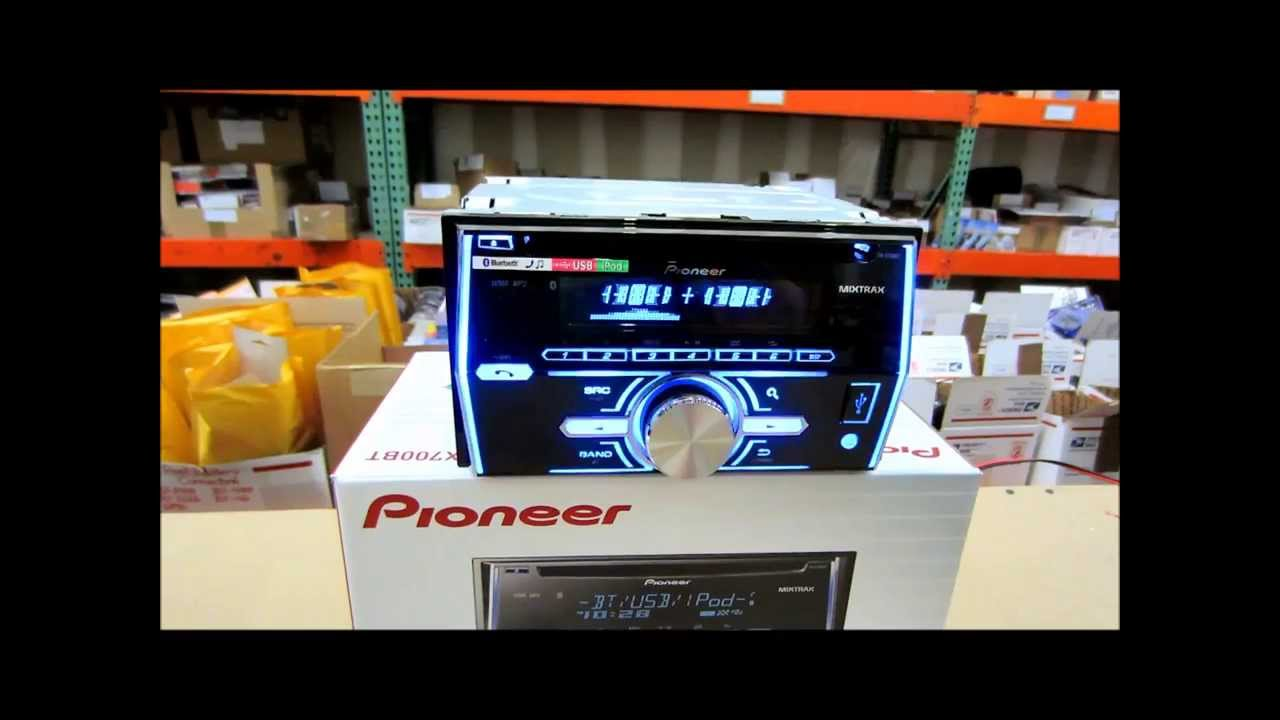 maxresdefault pioneer fh x700bt review, you have to see this one youtube pioneer fh x70bt wiring harness at cita.asia