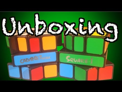Calvin Puzzles Unboxing