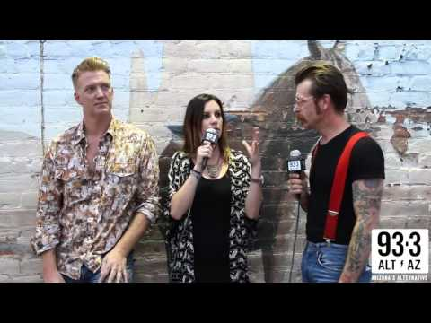 Josh Homme & Jesse Hughes Have Some Fun With Christy