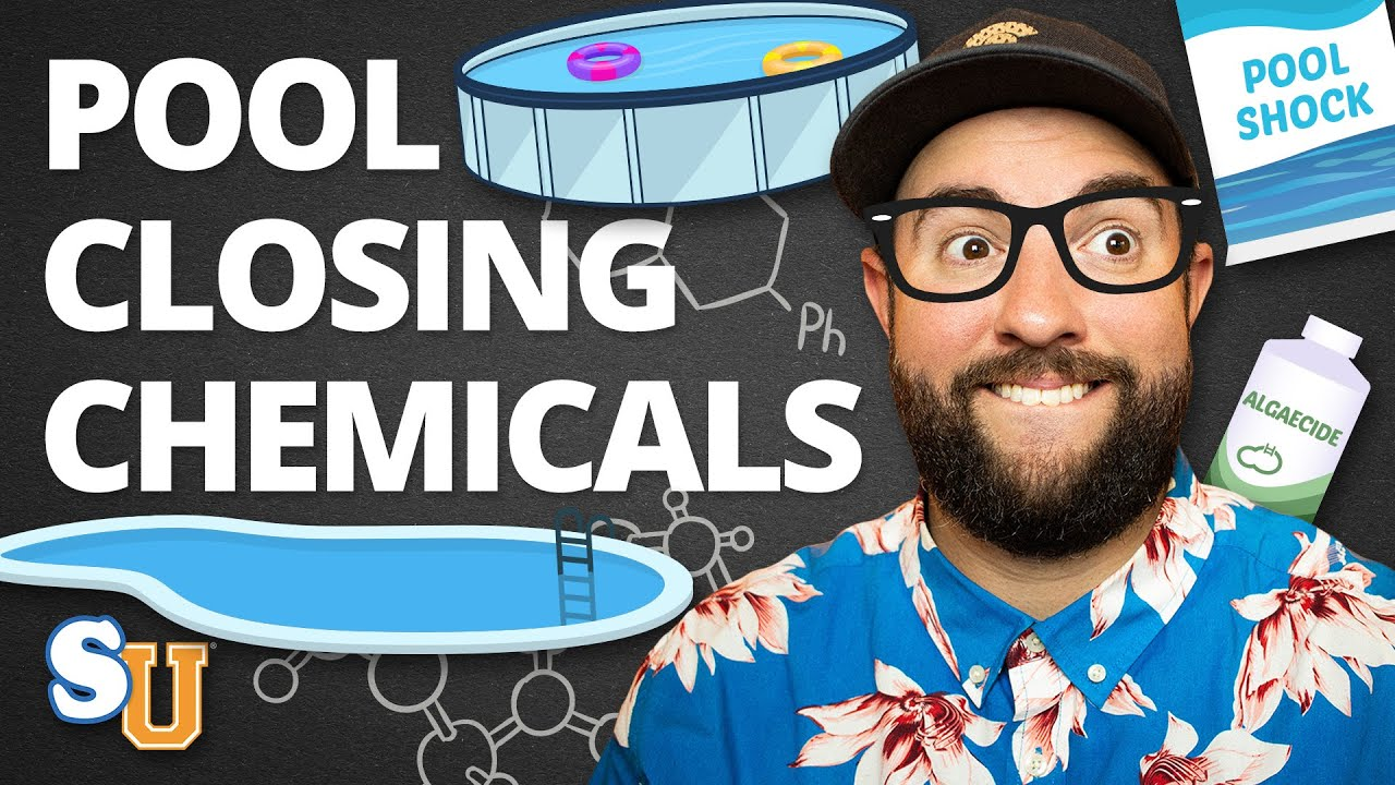 The Chemicals You Need To Close Your Pool Youtube