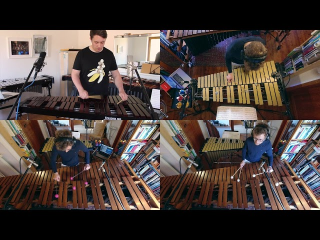 Tritsch-Tratsch-Polka || arrangement for mallet percussion quartet