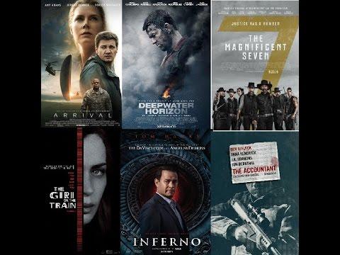 AJ's Movie Reviews: Arrival, Deepwater Horizon, Magnificent Seven & More!(11-11-16)