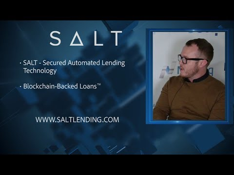 SALT Lending | Bitcoin, Ethereum Blockchain-Backed Loans™ | Caleb Slade | TNABC Miami