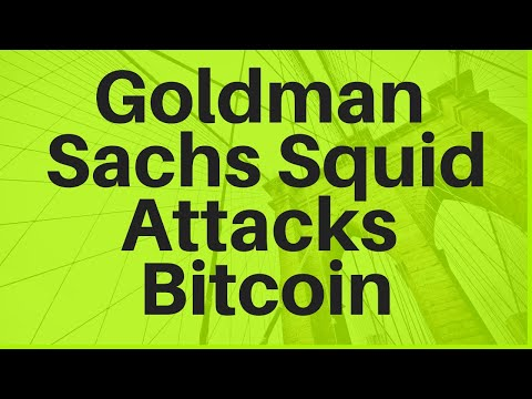 Goldman Sachs Squid Attacks Bitcoin-- Should You Be Worried?